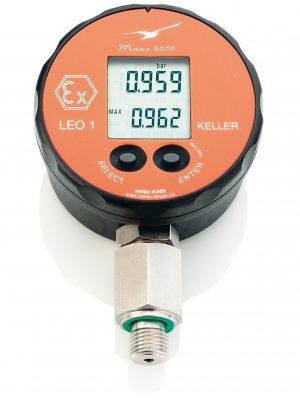 Đồng hồ áp suất điện tử LEO 1 keller