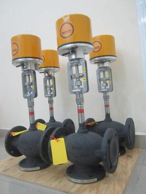 Van điều khiển dầu truyền nhiệt