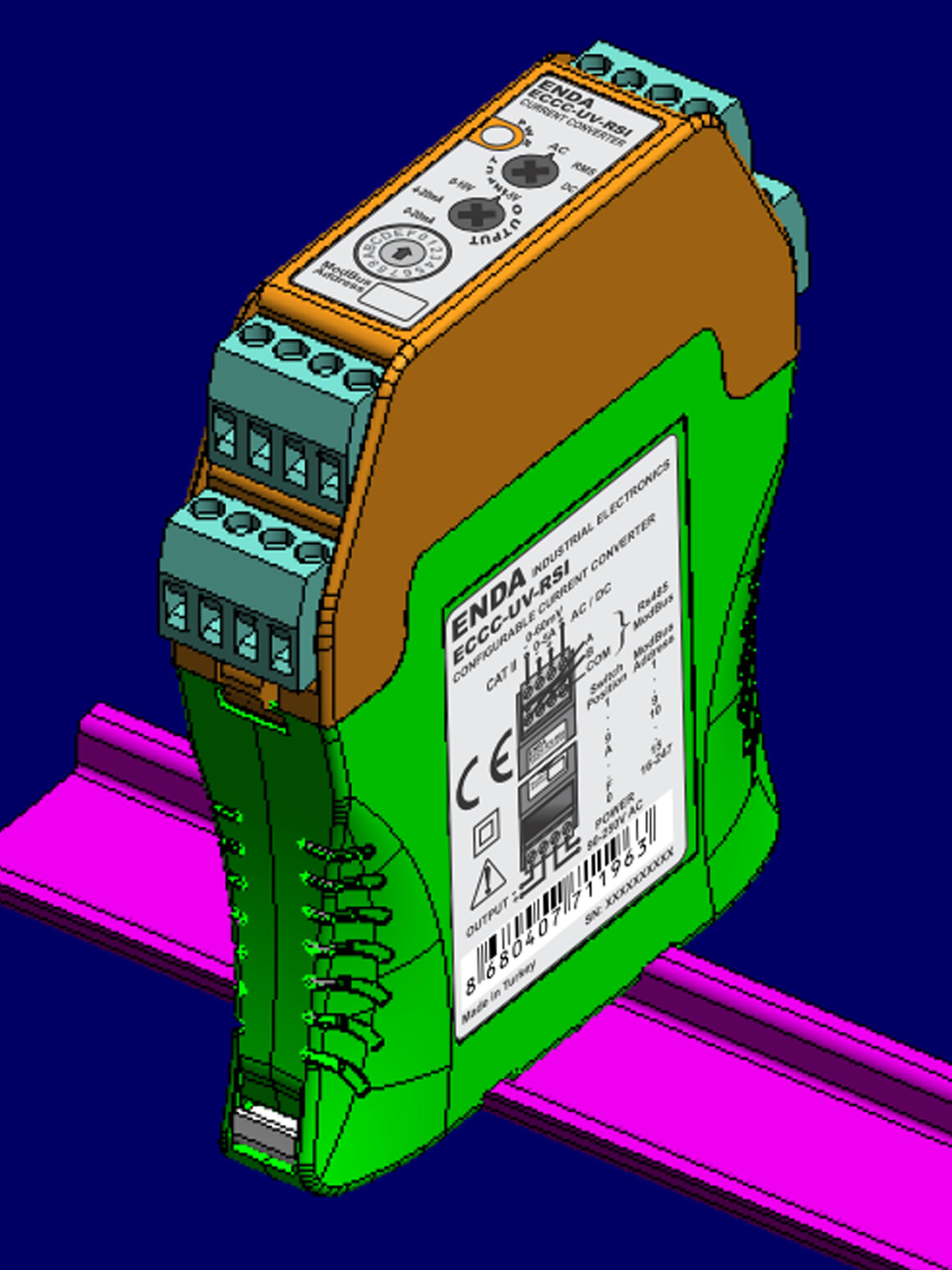 Bộ chuyển đổi tín hiệu 0-5A sang 4-20ma