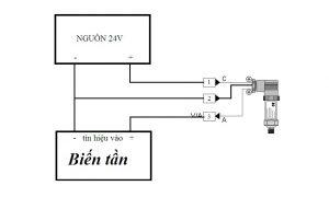 Cách đấu dây cảm biến áp suất loại 3 dây, 4 dây